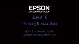 Thumbnail for entry Installazione Robot EPSON