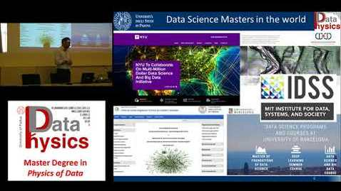 Thumbnail for entry Corso di Laurea Magistrale in Physics of Data - Presentazione