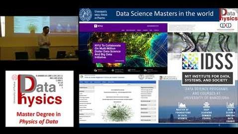 Thumbnail for entry Corso di Laurea Magistrale in Physics of Data - Presentazione