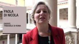 Thumbnail for entry Intervista a Paola Di Nicola, Giudice, Tribunale di Roma, 6 novembre 2018