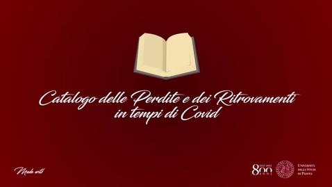 Thumbnail for entry Beatrice Roncato Villa - L'assenza del Corpo. Risvolti Lavorativi e Concretezza della Morte