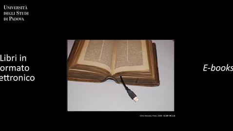 Thumbnail for entry Geoscienze_Cerca in GalileoDiscovery: libri in formato elettronico (ITA/ENG)