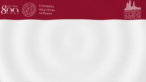 Thumbnail for entry Didattica a Scienze Statistiche nel 1° semestre 2020
