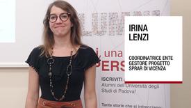 Thumbnail for entry Intervista a Irina Lenzi, Alumni Università di Padova, 31 maggio 2018
