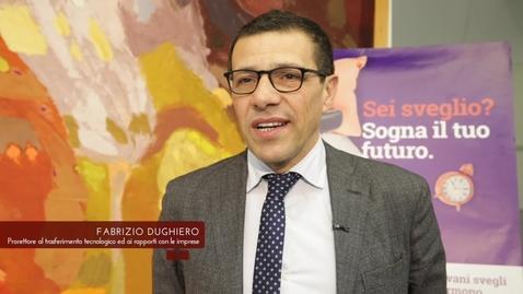 Thumbnail for entry Fabrizio Dughiero presenta il Contamination Lab
