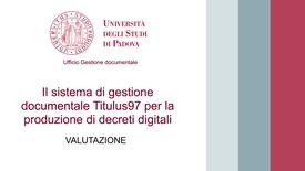 Thumbnail for entry Decreti digitali 3 - Valutazione