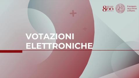 Thumbnail for entry Elezioni voto elettronico