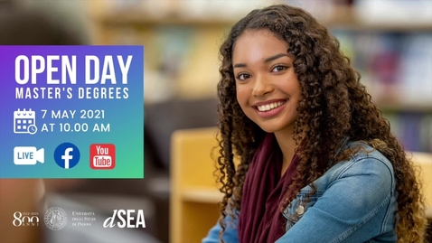 Thumbnail for entry Open Day 2021- Master's Degree in Economics and Finance