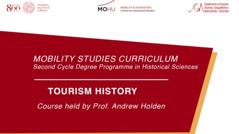 Thumbnail for entry Tourism history - Professor: Andrew Holden