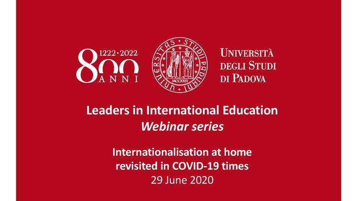 Thumbnail for channel Leaders in International Education
