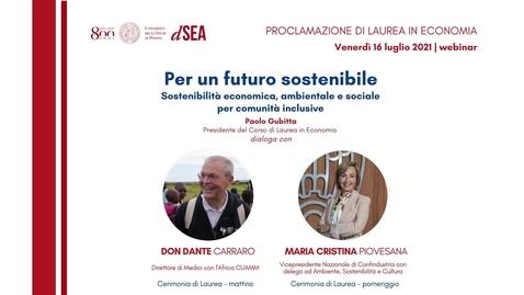 Thumbnail for entry Laurea in Economia, 16 luglio 2021 - pomeriggio