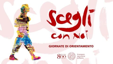 Thumbnail for entry Scegli con Noi - Giornate di Orientamento