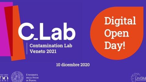 Thumbnail for entry Digital Open Day - C_Lab Veneto