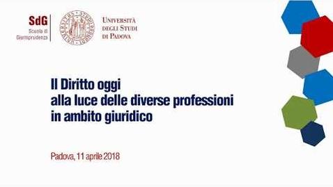 Thumbnail for entry Il Diritto oggi alla luce delle diverse professioni in ambito giuridico - Charamaria Valsecchi