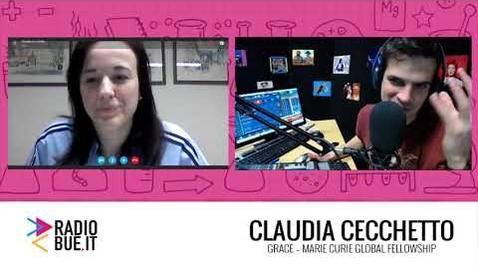 Thumbnail for entry Claudia Cecchetto_MSCA global fellow