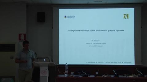 Thumbnail for entry 06 Michael Zwerger - Entanglement Distillation