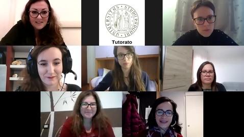 Thumbnail for entry Secondo incontro Tutorato Formativo FILOSOFIA, SCIENZE SOCIOLOGICHE, SCIENZE DELL'EDUCAZIONE E DELLA FORMAZIONE