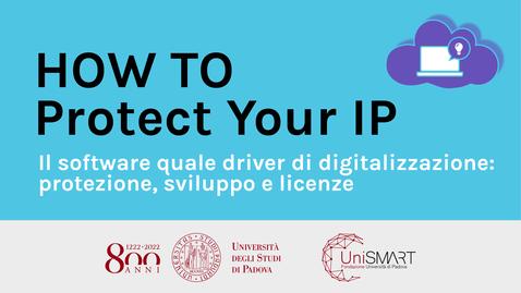Thumbnail for entry Il software quale driver di digitalizzazione: protezione, sviluppo e licenze