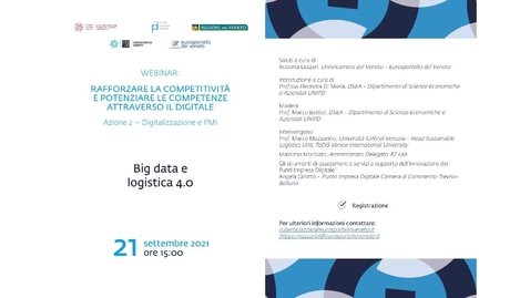 Thumbnail for entry Big data e logistica 4.0