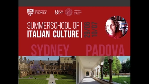 Thumbnail for entry CULTURAL HERITAGE IN VENETO AND PADOVA_CHAVARRIA.mp4