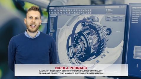 Thumbnail for entry Laurea in Ingegneria dell'Innovazione del Prodotto - Testimonial Nicola Pornaro