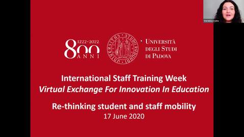 Thumbnail for entry International Staff Training Week 2020 - DAY 3