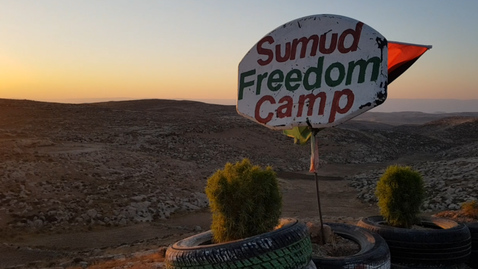 Thumbnail for entry Sumud Freedom Camp, Hebron, July 2019