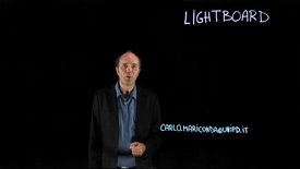 Thumbnail for entry Lightboard: a unique whiteboard for incisive educational videos