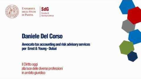 Thumbnail for entry Il Diritto oggi alla luce delle diverse professoni in ambito giuridico - Daniele Del Corso