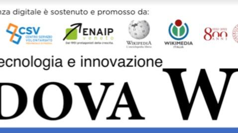 Thumbnail for entry Presentazione Wikipedia e Padova Capitale del Volontariato 2020 - 21 aprile 2020