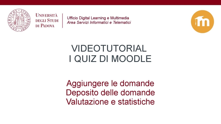 Thumbnail for channel Tutorial Moodle