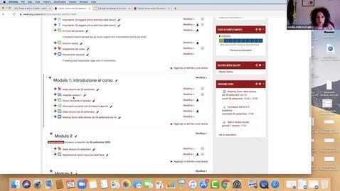 Thumbnail for entry Consigli sul design di un corso in Moodle per organizzare al meglio la propria home page