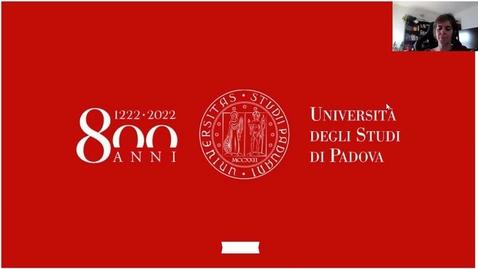 Thumbnail for entry Open Day A.A. 2020/2021 - Corso di Laurea Magistrale in Psicologia cognitiva applicata - a cura della Prof.ssa Barbara Carretti