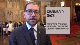 Thumbnail for entry Intervista a Gianmario Gazzi, Presidente Ordine Nazionale Assistenti Sociali, 6 novembre 2018