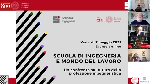 Thumbnail for entry Saluti Introduttivi Presidente della Scuola e Magnifico Rettore