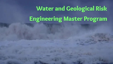 Thumbnail for entry Water and Geological Risk Engineering