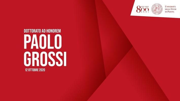Dottorato ad honorem in Giurisprudenza a Paolo Grossi