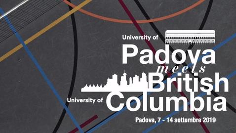 Thumbnail for entry Padova meets British Columbia University