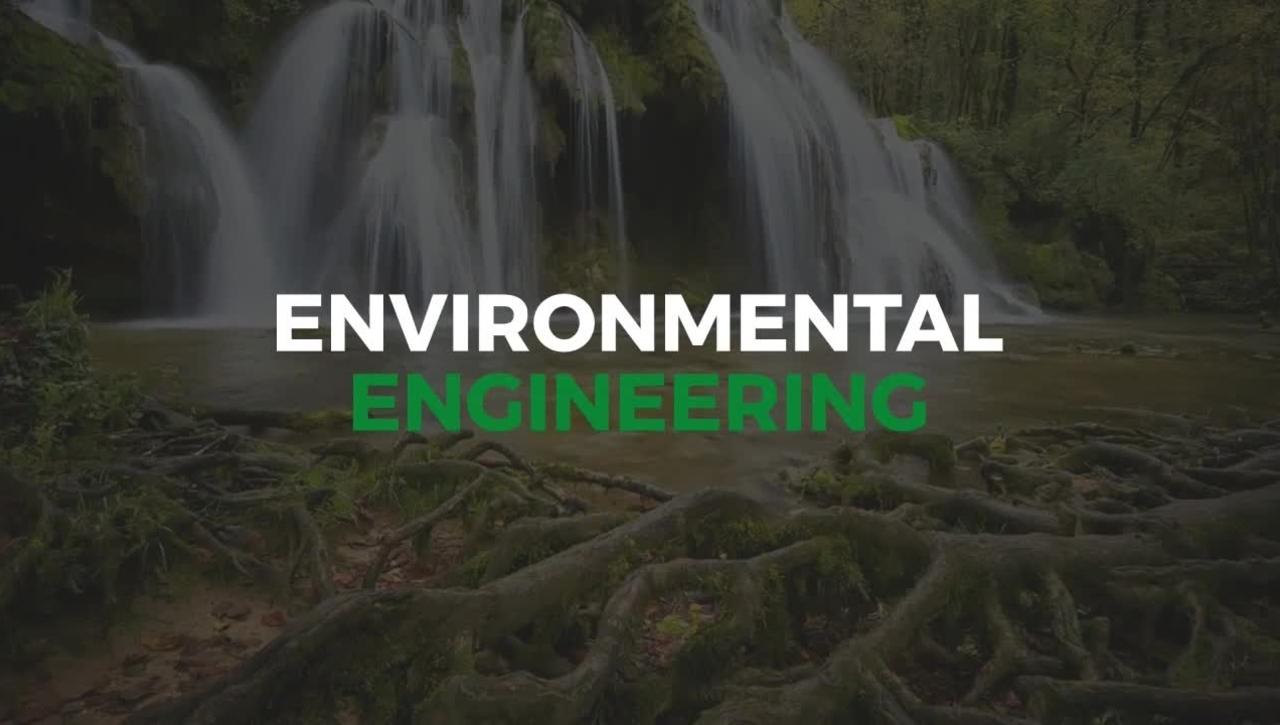 Presentazione del Corso di Laurea Magistrale in Environmental Engineering