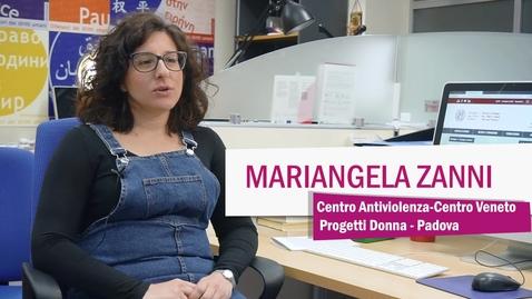 Thumbnail for entry Mariangela Zanni, Centro Veneto Progetti Donna, Padova