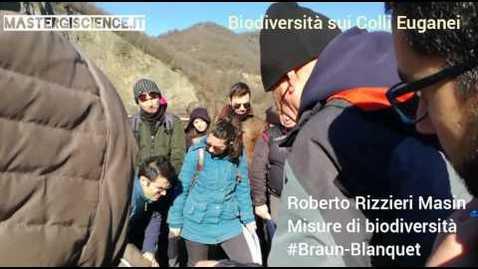 Biodiversitá sui Colli Euganei - Master GIScience (3/4)