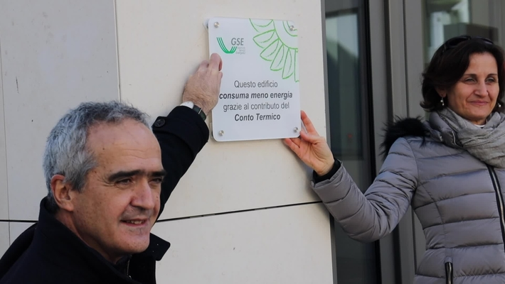 """Il premio """"Una targa per l'efficienza"""" assegnato dal GSE all'Ateneo di Padova"""