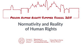 "Thumbnail for entry Padova Human Rights Summer School ""Normativity and Reality of Human Rights"" July 8-14, 2018"
