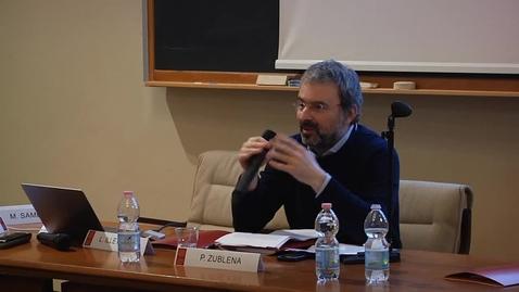 """Thumbnail for entry Paolo Zublena: """"Letteratura e scienza nel Novecento italiano: da Gadda a Levi"""""""