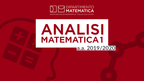 Thumbnail for entry 11/12/2019 ANALISI MATEMATICA 1