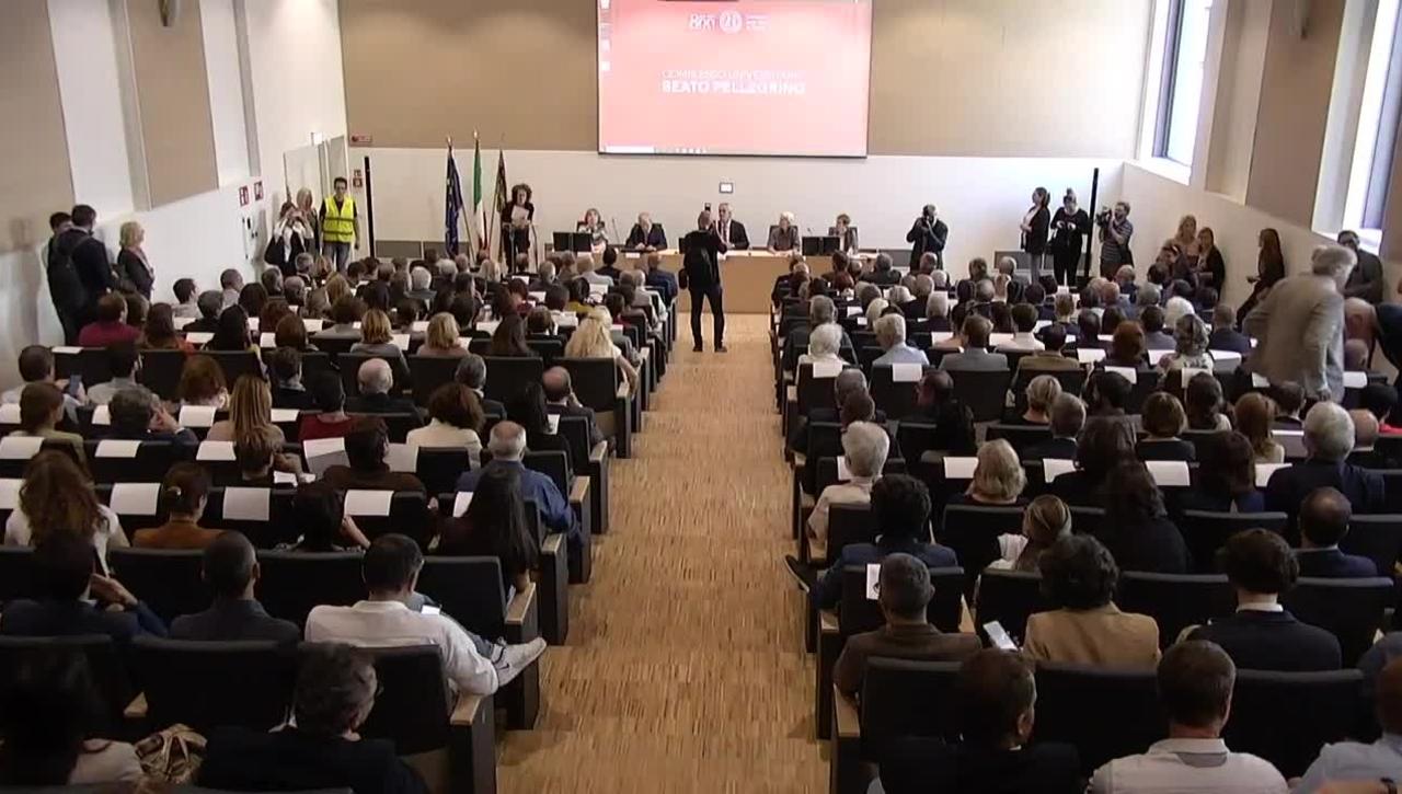 Inaugurazione Complesso Universitario Beato Pellegrino