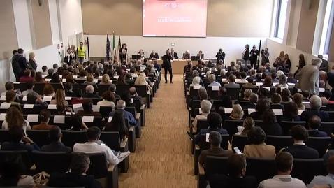 Thumbnail for entry Inaugurazione Complesso Universitario Beato Pellegrino