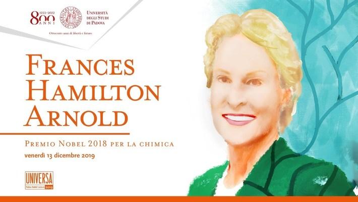 Dottorato ad honorem a Frances Hamilton Arnold, Premio Nobel per la Chimica 2018