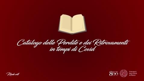 Thumbnail for entry Elena De Santi - Il Covid in Comunità