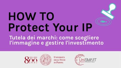 Thumbnail for entry Tutela dei marchi: come scegliere l'immagine e gestire l'investimento